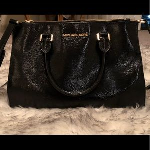 Black Michael Kors purse